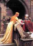 edmund blair leighton famous paintings - god speed by edmund blair leighton