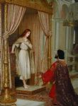 edmund blair leighton famous paintings - the king and the beggar maid by edmund blair leighton