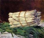 edouard manet art - a bunch of asparagus by edouard manet