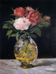 edouard manet bouquet of flowers painting