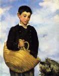 edouard manet boy with dog painting