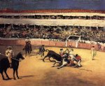 edouard manet bullfight painting