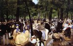 edouard manet famous paintings - music in the tuileries by edouard manet