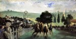 edouard manet original paintings - races at longchamp by edouard manet