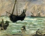 edouard manet seascape i painting