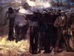edouard manet the execution of the emperor maximilian painting