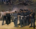 edouard manet the execution of the emperor maximillian painting
