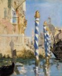 edouard manet the grand canal venice paintings
