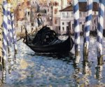 edouard manet the grand canal venice ii paintings