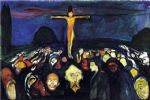 edvard munch famous paintings - golgotha by edvard munch
