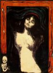 edvard munch famous paintings - madonna by edvard munch