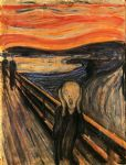 edvard munch watercolor paintings - the scream by edvard munch