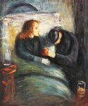 edvard munch the sick child painting 34998