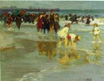 bathers by edward henry potthast oil paintings