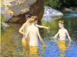 in the summertime by edward henry potthast oil paintings