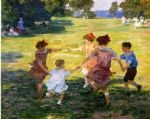 edward henry potthast ring around the rosie painting 82032