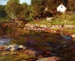 edward henry potthast souvenir of canada painting 82642