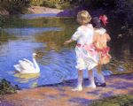the swan by edward henry potthast painting
