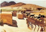 edward hopper adobe houses painting