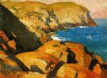 blackhead monhegan by edward hopper painting