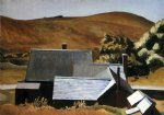 burly cobb s house south truro by edward hopper art
