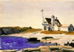 edward hopper coast guard station painting