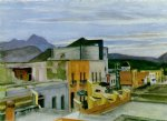edward hopper el palacio prints