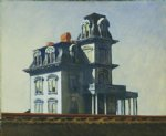 edward hopper house by the railroad painting