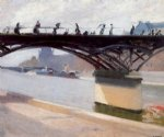 edward hopper le pont des arts painting