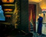 edward hopper new york movie paintings