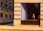 edward hopper new york office painting