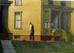 edward hopper pennsylvania coal town painting