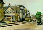 prospect street gloucester by edward hopper painting