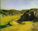 road in maine by edward hopper art