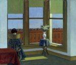 room in brooklyn by edward hopper painting