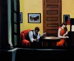 room in new york ii by edward hopper painting