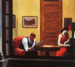 edward hopper room in new york paintings