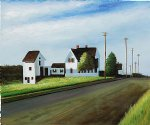 route 6 eastham by edward hopper painting
