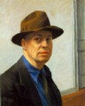 edward hopper self painting