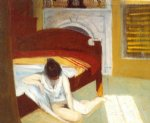 summer interior by edward hopper painting