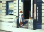 summertime by edward hopper painting