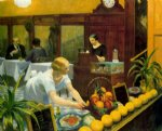 tables for ladies by edward hopper painting
