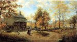 edward lamson henry art - an october day ii by edward lamson henry