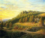edward lamson henry art - bear hill by edward lamson henry