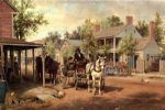 edward lamson henry horse and buggy on main street paintings 34838