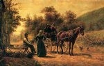 return to the farm by edward lamson henry painting