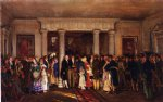 edward lamson henry acrylic paintings - the lafayette reception by edward lamson henry