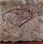 egon schiele autumn tree in movement painting-77120