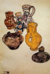 ceramics by egon schiele art
