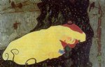 egon schiele watercolor paintings - danae by egon schiele